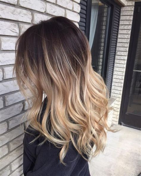 ombre for brunette blonde balayage ombre on brown hair best balayage hair