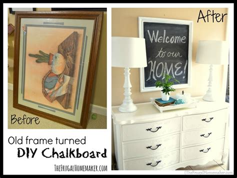 diy chalkboard from picture frame how to make a diy chalkboard from an picture frame