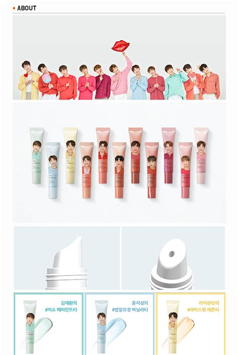 Harga Lip Balm Innisfree Wanna One innisfree wanna one my lip balm pre order korea