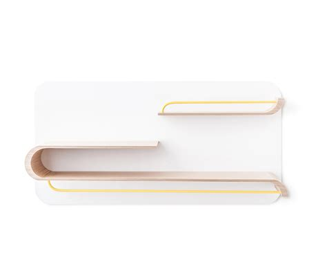 Yellow Wall Shelf by L Shelf Yellow Metal Wall Shelves From Rafa