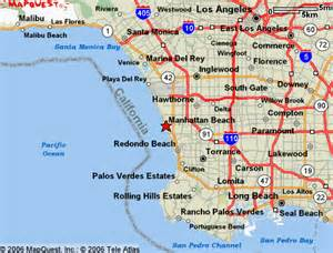 manhattan california map manhattan california