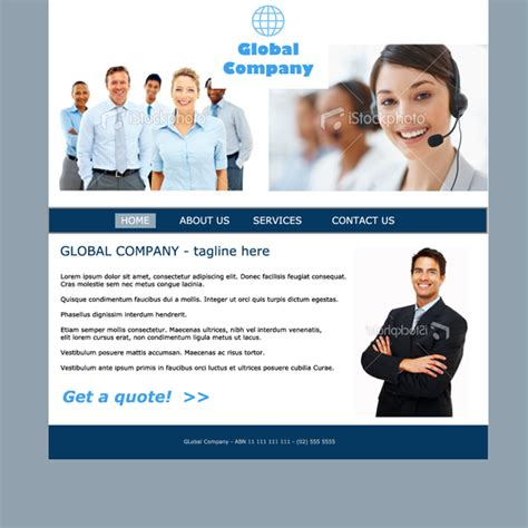 basic site template simple site templates sauced out websites and print