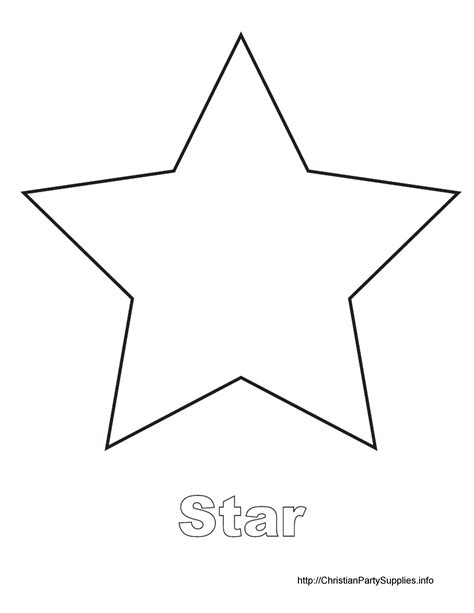 printable star a4 best photos of printable to cut out stars large star cut