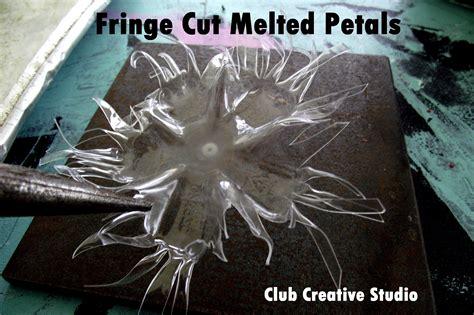 melting plastic plastic painting project part ll club creative studio