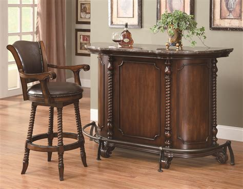 buy 100670 home bar set by coaster from www mmfurniture