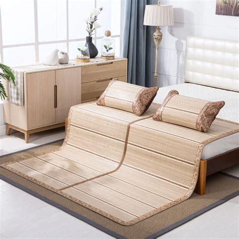 lightweight summer bedding high grade bed protector foldable both sides mattress