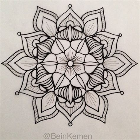 mandala pattern sketch commission 4 for meatshop tattoo on behance