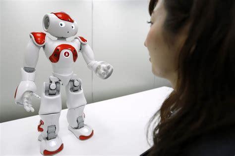 impiegato di banca giappone un robot impiegato di banca radio subasio