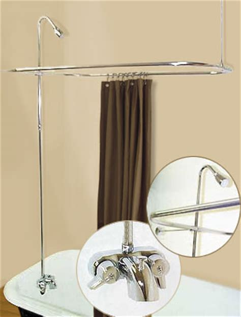 Turn Clawfoot Tub Into Shower mobile home advantage