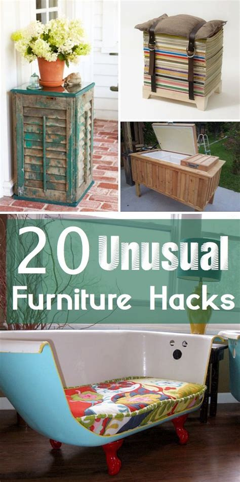 furniture hacks craft project ideas 20 creative diy furniture hacks