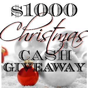Christmas Cash Sweepstakes - contest 1 000 christmas cash giveaway