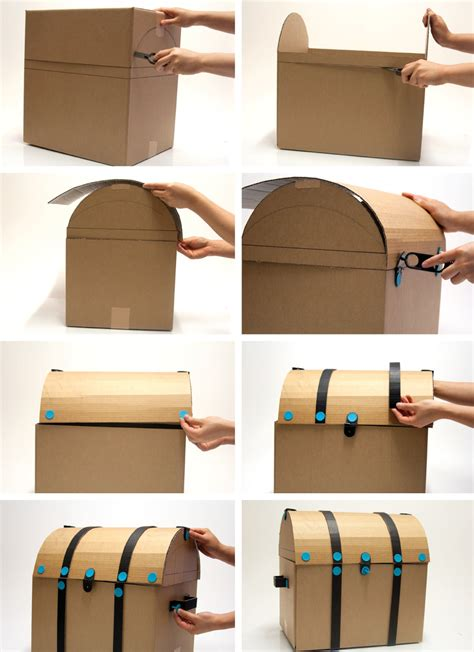 How To Make A Paper Treasure Chest - make your own treasure chest plans free