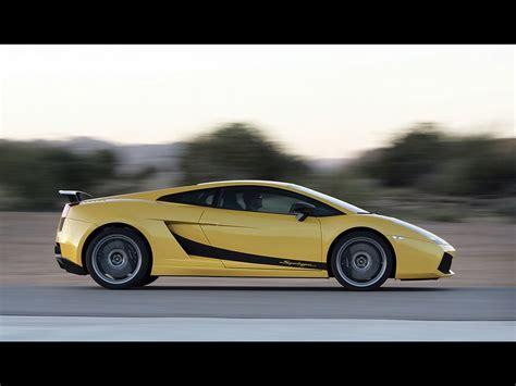 Lamborghini Gallardo Superleggera Yellow 2007 Lamborghini Gallardo Superleggera Yellow Side Speed