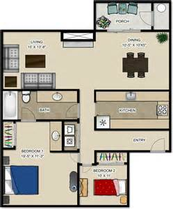 2 Bedroom Apartments Floor Plans pricing and floor plans maple glen apartments