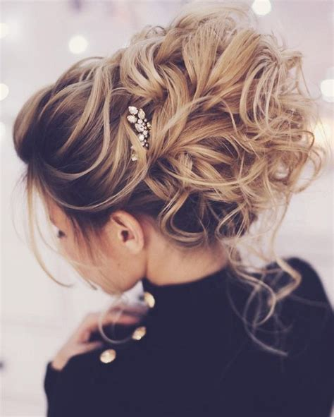 pintrest hair pretty messy wedding updo hairstyle for every type of bride