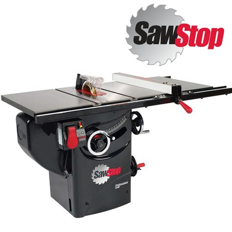 sawstop 3hp professional cabinet saw sawstop proffesional cabinet saw 250mm 3hp