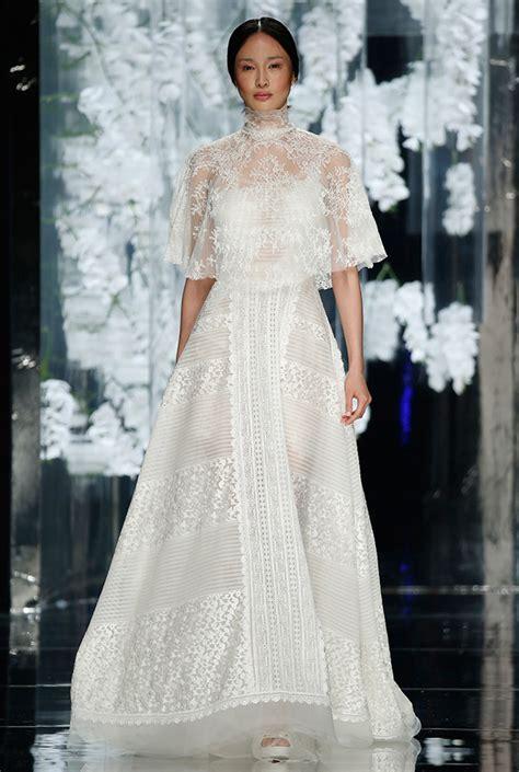 Valances Designs Favorite Wedding Dresses From Barcelona Bridal Week