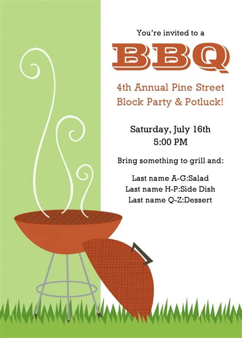 invitation flyer templates free 9 best images of bbq flyer templates free printable bbq