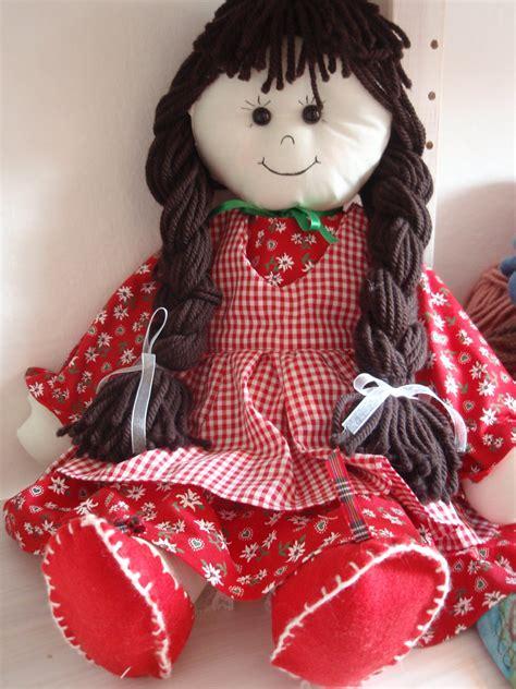 Handmade Doll Patterns Free - pattern rag doll cloth doll pdf diy free shipping