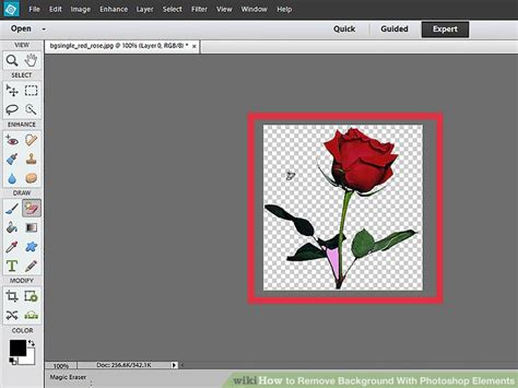 remove background from image how to remove background with photoshop elements with