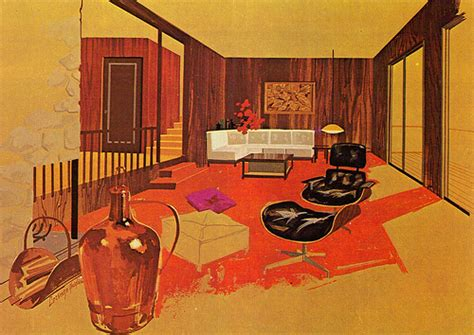 60s interior design 1950s shelby white the blog of artist visual designer