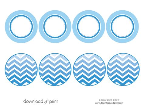 8 best images of free printable baby cupcake toppers