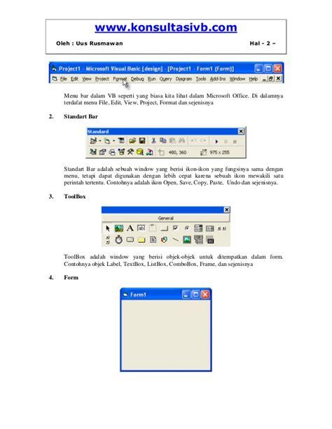 format vbs adalah m odul 5 komponen dasar visual basic