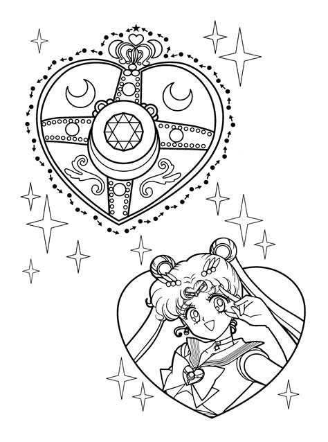 sailor moon color coloring page sailormoon coloring pages 2
