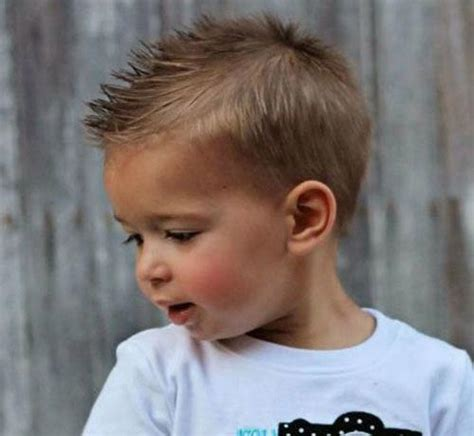 boy haircuts spiky on the front 32 toddler boy haircuts favorite style for your baby