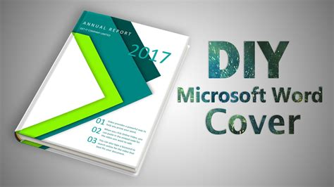 design book cover using microsoft word how to make a professional cover page in microsoft word