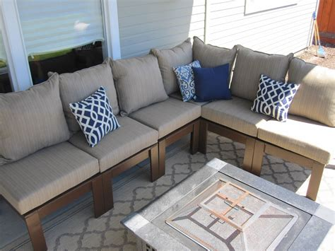 build outdoor sectional white outdoor sectional diy projects