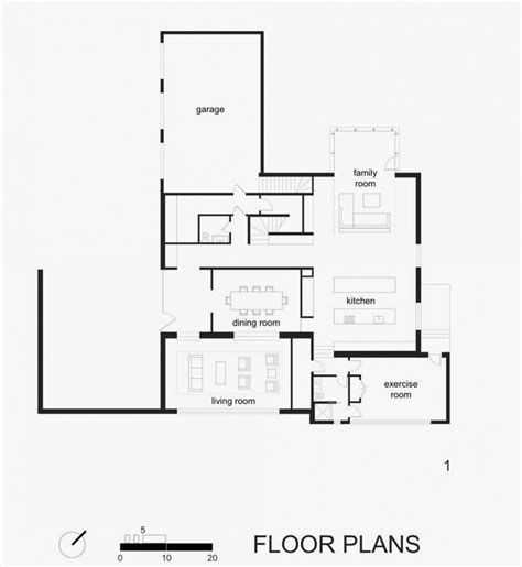 glass house floor plan black and white house with modern glass building