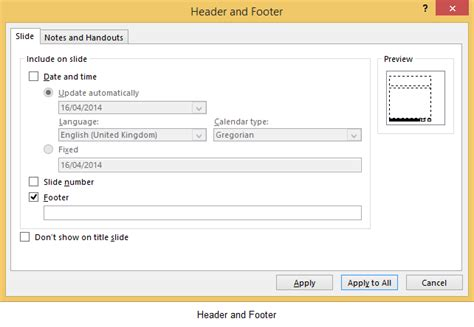 how to update footer in powerpoint how to insert headers and footers in microsoft powerpoint