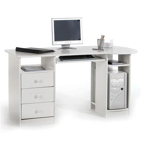 Schreibtisch Weiß Mit Aufsatz by Pc Schreibtisch Bob In Der Farbe Wei 223 Computertisch Kaufen