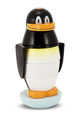 Funtime Stacker childrens child and doug wooden penguin stacker