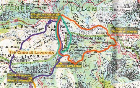 carte sella info carte dolomites orientales