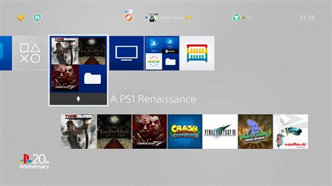 ps4 themes corrupted ps4 is a ps1 nostalgic s dream gaming