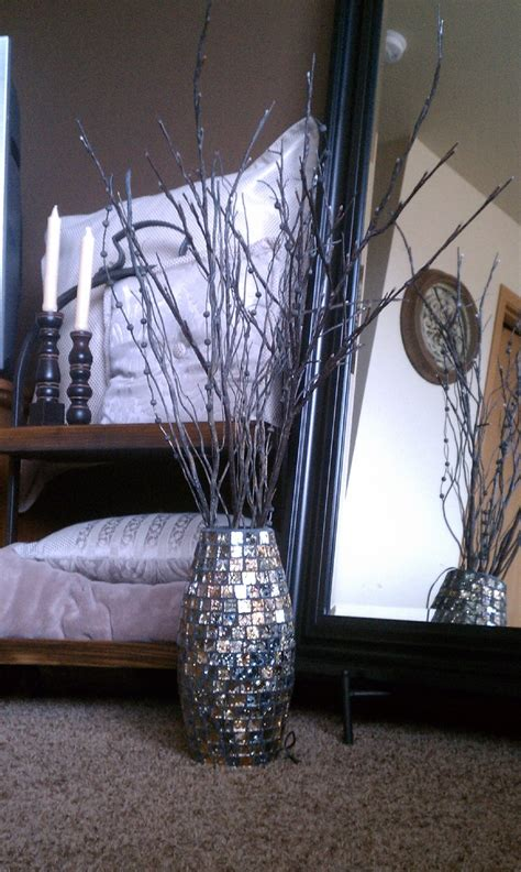 Lit Twigs In Vase by 1000 Images About Lighted Branches On