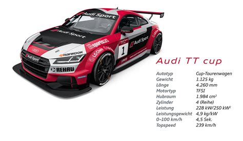 Audi Sport Design by Hartes Racing Klare Fakten Audi Sport Tt Cup Addicted