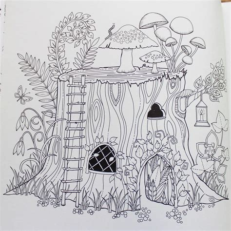 johanna basford coloring book enchanted forest an inky quest coloring book johanna