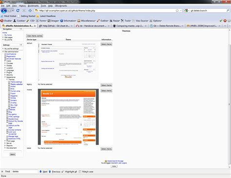 moodle theme selector blank mdl 25394 improved support for mobile themes and browser