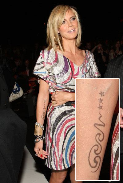 heidi klum tattoo removed tattoos georgiblackandgrey