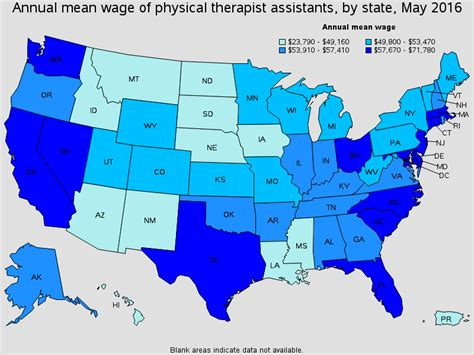 Physical Therapist Outlook by Image Gallery Occupational Therapist Aide Salary