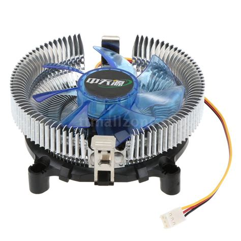 intel 775 cpu fan 2200rpm low power cpu fan heatsink radiator cooler fr