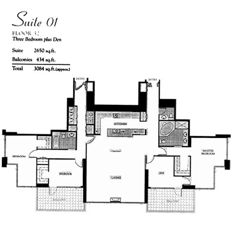 pinnacle floor plans pinnacle floor plan suite 01