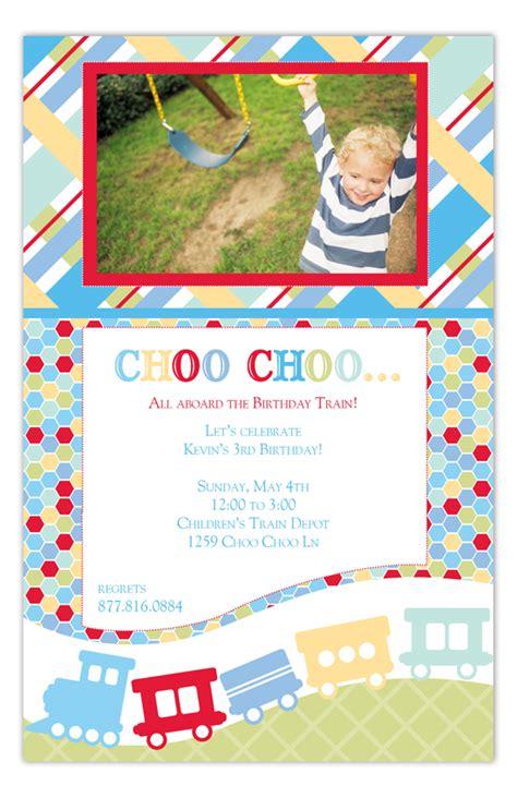 design it photo card all aboard photo card polka dot invitations