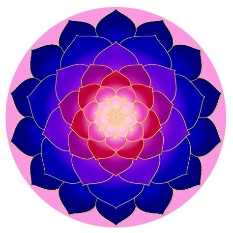 pattern color tikz mandala tikz exle