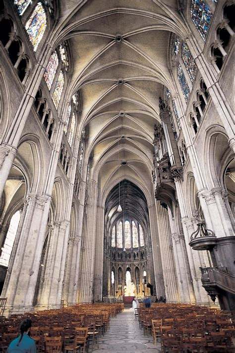 Chartres Cathedral Interior by 1101 4 1101 With Leeuwrik At Idaho State