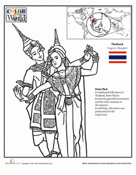 thailand buddhist coloring pages coloring pages