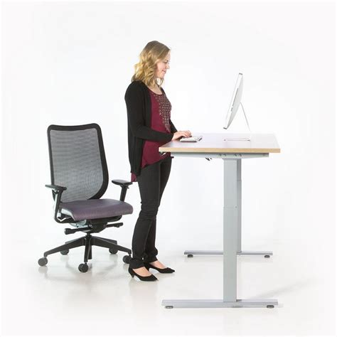 Stand Up Office Desk High Quality Stand Up Desk Base Atwork Office Furniture Canada